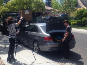KGO Auto Body Inspection- consumer by trunk