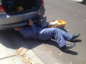 KGO Auto Body Inspection- under car inspector